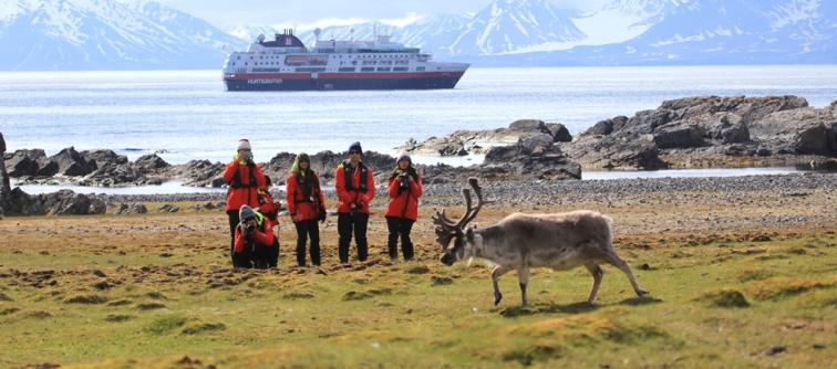 Spitsbergen se caracteriza por ser la joya de la Noruega Ártica; un lugar fascinante donde los osos polares recorren el territorio.