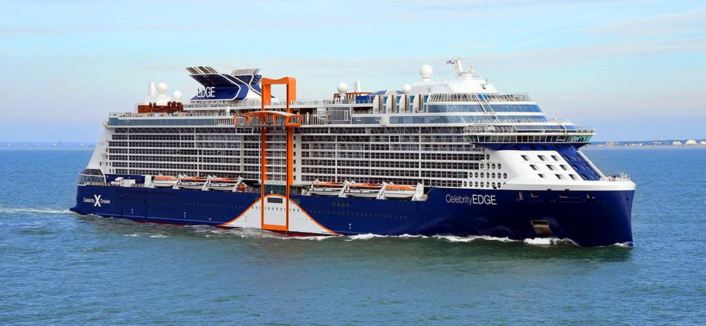 El 'Celebrity Edge' es el único buque creado en 3D.