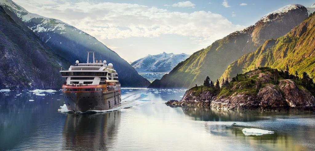 La naviera propone al viajero descubrir Noruega, Antártida, Islandia y Groenlandia.