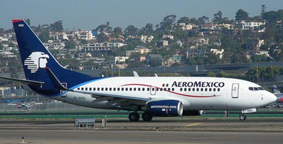 Aeroméxico ofrece 75 rutas desde su hub en la Ciudad de México.