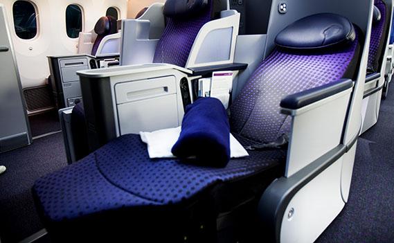 El mayor espacio entre asientos en la cabina es uno de los aspectos valorados por los viajeros de negocios.