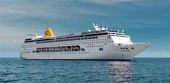 El 'Costa Fortuna' y el 'Costa neoRiviera' serán los buques destinados a los itinerarios por los Emiratos Árabes y Omán.