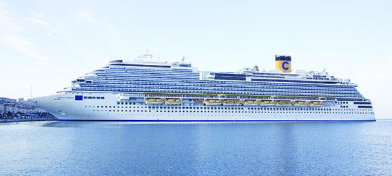El próximo 7 de noviembre, el 'Costa Diadema' cumple su primer año de navegación.