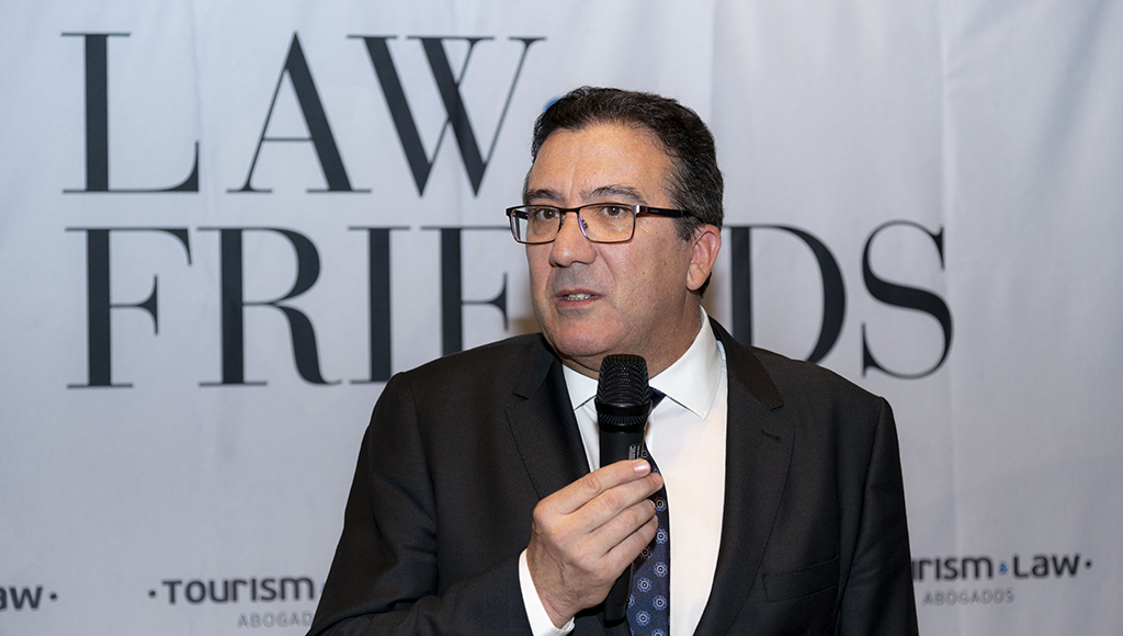 El director general de Tourism & Law, Francisco Javier del Nogal.