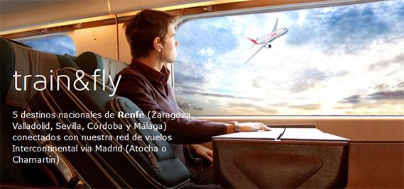 Cinco destinos nacionales de Renfe se conectarán en un único billete y en código compartido con más de 80 destinos internacionales de Iberia.