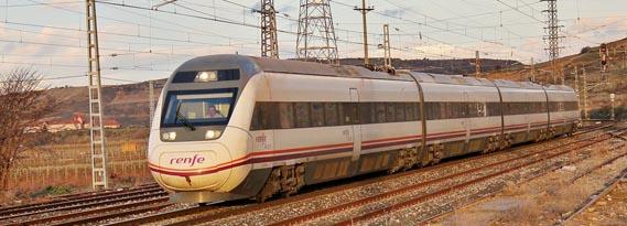 Los retrasos en trenes Alvia, AV City y Euromed de más de 30 minutos implicarán la devolución del 50% del billete y los de más de 60 minutos, del 100%.