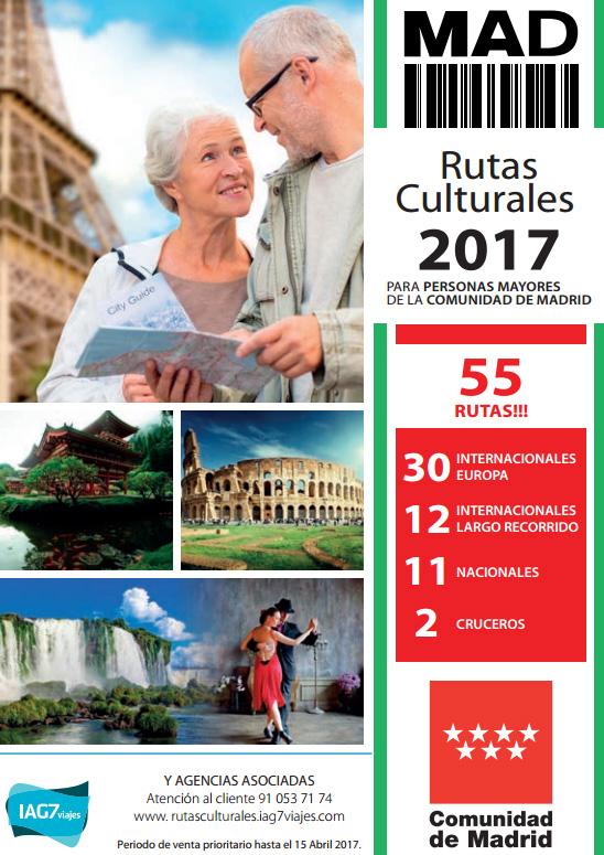 Todos los viajes del programa ?Rutas Culturales?  tienen incluido la Pensión Completa y un guía acompañante.